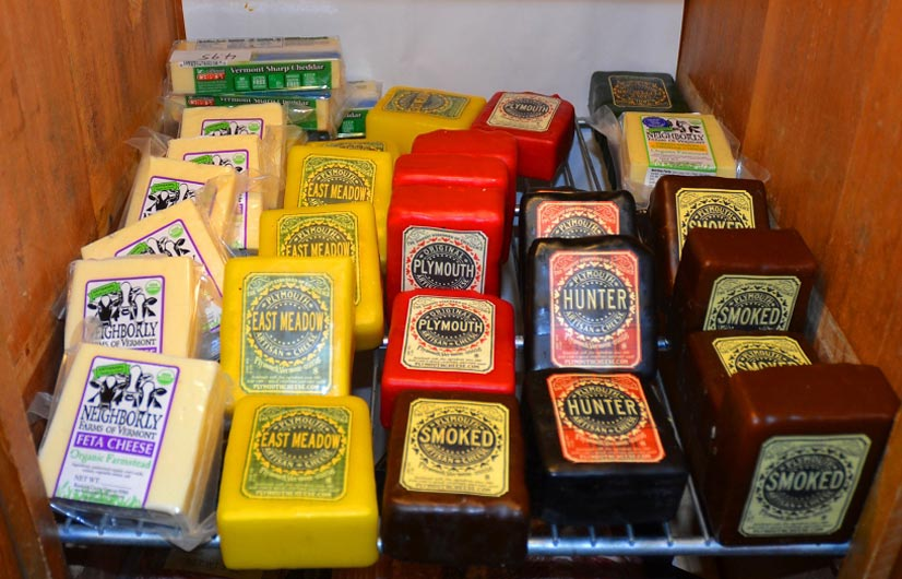 Warren Store Deli Cheeses